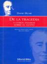 Hume, De la tragedia y otros ensayos sobre el gusto